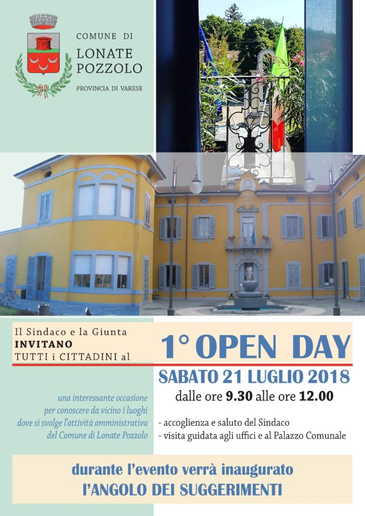 1° Open day